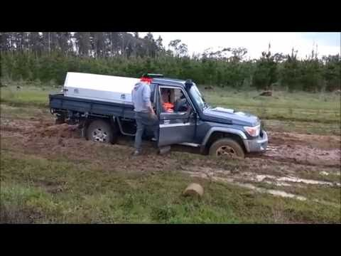 79 Series V8 LandCruiser 4x4 Recovery Fail
