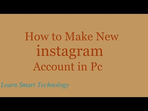 How to Make New instagram Account - How to Open instagram Account