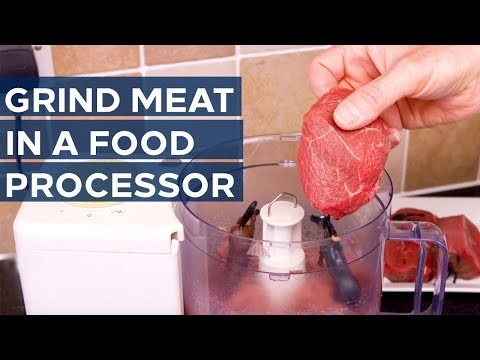 How to Grind Meat in a Food Processor - Get insights on top brands like Samsung and LG - Youtube