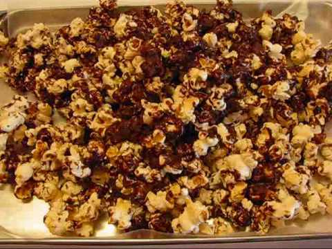 Betty's Party Chocolate-Coated Popcorn
