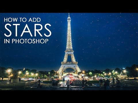 How to Create Stars - Photoshop Tutorial [Photoshopdesire.com]