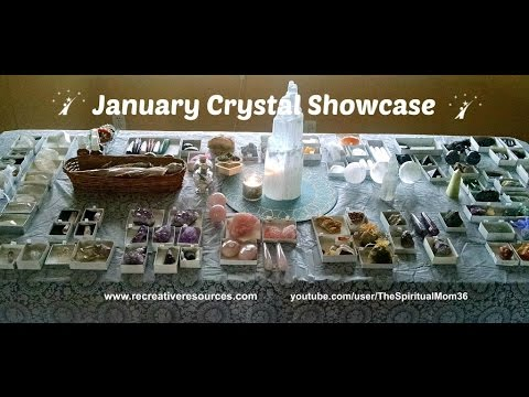January Crystal Showcase (Crystals for Sale)