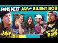 Adults React To And MEET Jay And Silent Bob Kevin Smith And Jason Mewes