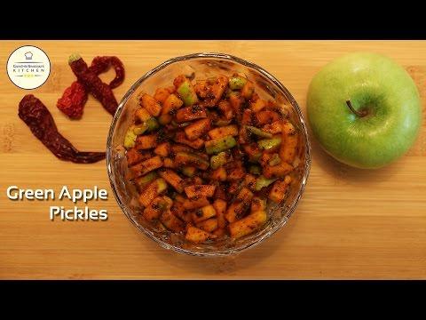 Green Apple Pickle | Green Apple Achar | Gayathri Sivaram's Kitchen