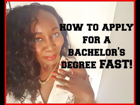 How To Get Your Bachelors Degree FAST!