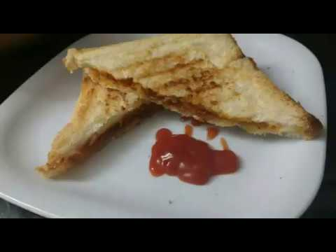 Prawns Grilled Sandwich