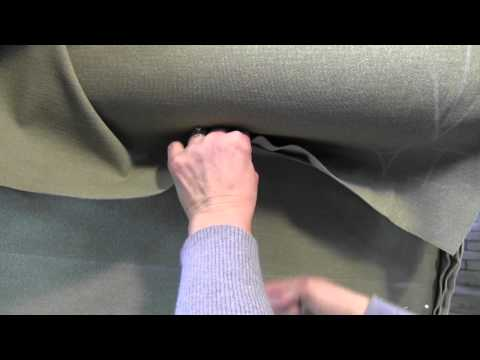 Upholstery How To Slipcover A Wing Chair