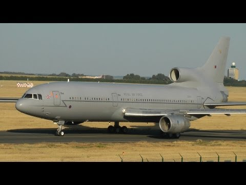 Royal Air Force Lockheed L-1011 TriStar Taxi & Takeoff