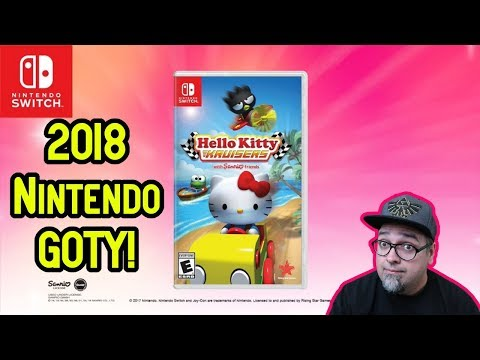 2018 Game Of The Year! Hello Kitty Kruisers Nintendo Switch!