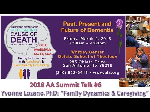SAT Alzheimer's Summit | Family Dynamics {2018}