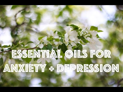 6 Essential Oils for Anxiety + Depression