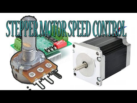 Stepper Motor Speed Control with Potentiometer - Arduino Tutorial