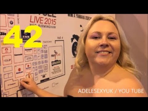Xxx Mp4 ADELESEXYUK AT THE MOTORCYCLE LIVE 2015 3gp Sex
