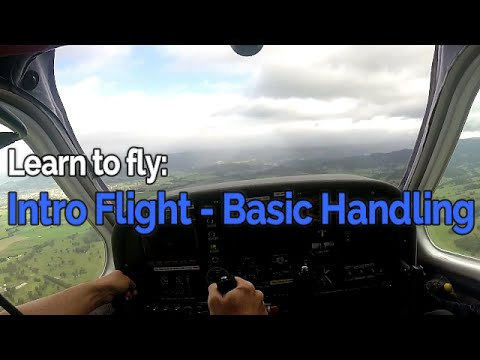 RECREATIONAL PILOT CERTIFICATE: Flying Lesson #1 - Intro Flight - Basic Handling | Audio