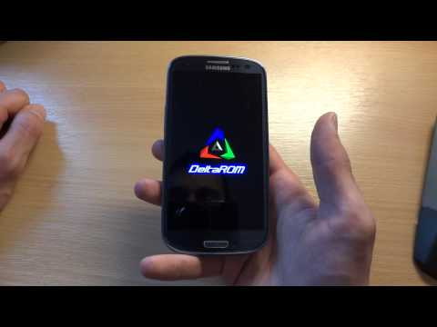 How to flash DeltaROM III v2.0 I9300 Jelly Bean 4.2.2 - By TotallydubbedHD