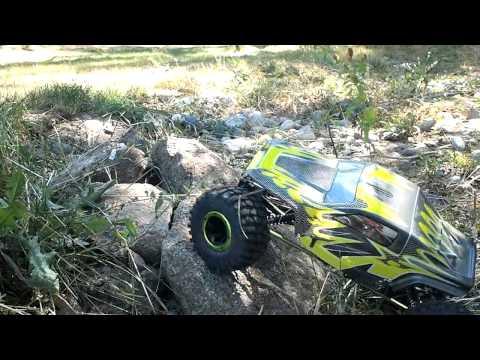 MaxStone 1/10th RC 4wd Rock Crawler