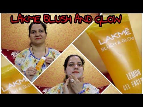 BEST FACE WASH FOR OILY SKIN | LAKME BLUSH & GLOW LEMON GEL FACE WASH | ROYAL STYLE
