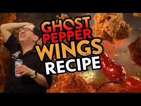 DIY Popeye's Ghost Pepper Wings