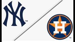 New York Yankees vs Houston Astros | ALCS Game 2 Full Game Highlights