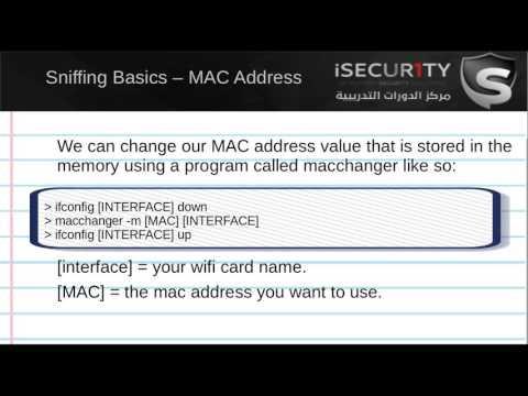 learn cracking wifi keys (WEP WPA WPA2) 3  What is MAC Address & How To Change It