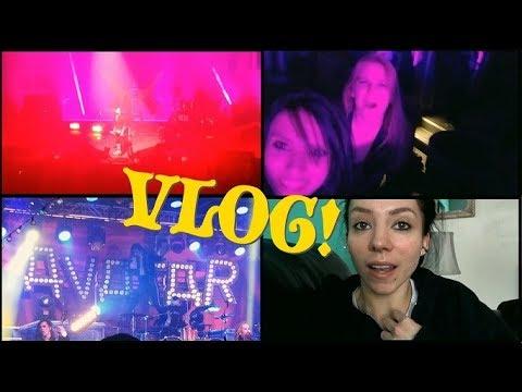 VLOG: February 7th-11th | Marilyn Manson & Avatar Concert!