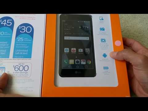 Unboxing Latest LG Phoenix 3 AT&T Go Phone GSM Smartphone Cell Phone Full HD 2017