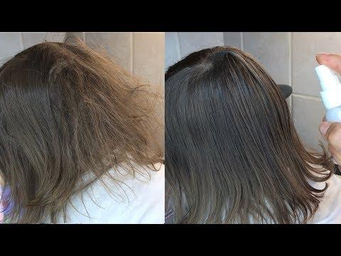 DIY spray para desenredar el cabello