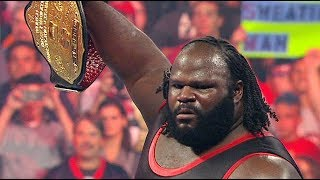 All Of Mark Henry Championship Wins In WWE - HD (Hall of Famer)