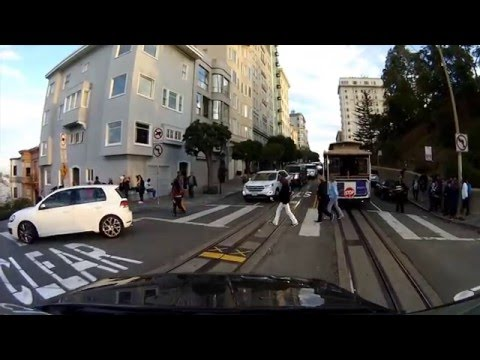 Driving in San Francisco | Lombard Street