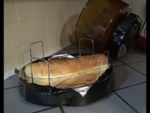 Pillsbury French Bread  - NuWave Oven Heating Instructions