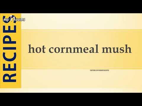 hot cornmeal mush