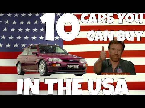 Top 10 Cars You Can Buy In The USA