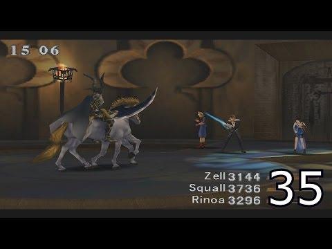 Final Fantasy VIII Walkthrough Part 35 - Centra Ruins & Odin Boss Battle HD