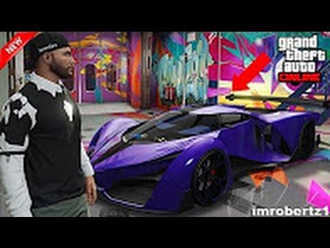 GTA 5 Online - Best BLURPLE  Modded Proto Crew Color Paint Job! GTA Glitches!