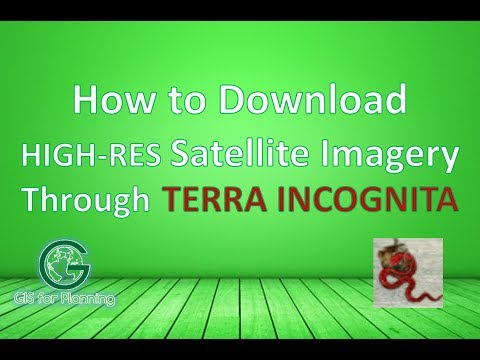 Download High Resolution Satellite Imagery in Terra Incognita