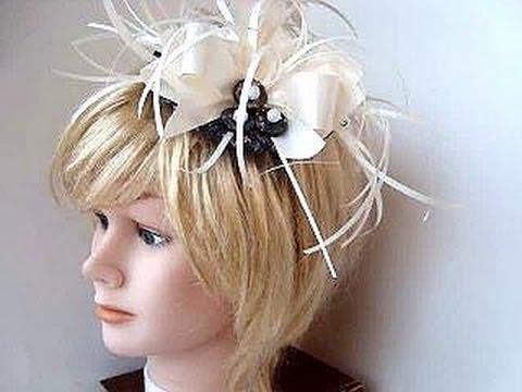 Saucer style Royal Wedding Fascinator Hat diy headpiece, bridal fascinator, headband,