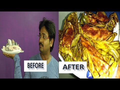 How to Make Tasty Fish Fry In Banana Leaf