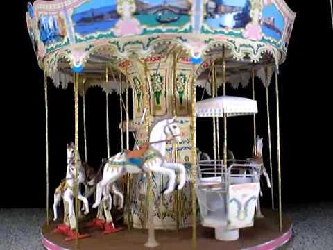 papercraft carousel ケイタイバージョン-1