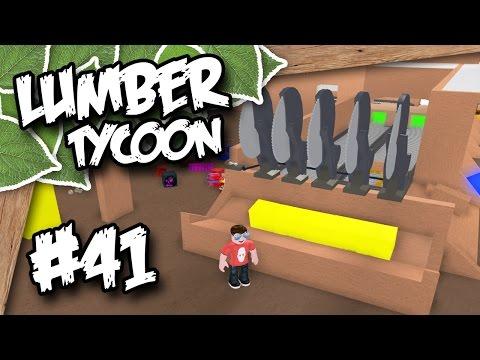 Lumber Tycoon 2 #41 - SAW BENCH SETUP (Roblox Lumber Tycoon
