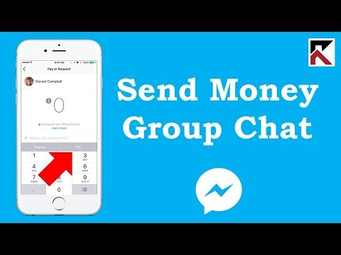 How To Send Money To Someone In A Group Conversation Facebook Messenger