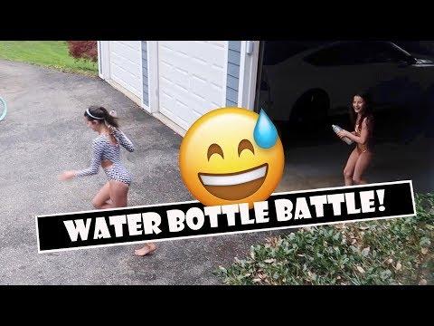 Water Bottle Battle 😅  (WK 382)   Bratayley