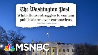 Trump Blames The Media and Democrats For Coronavirus Stock Slide | Deadline | MSNBC