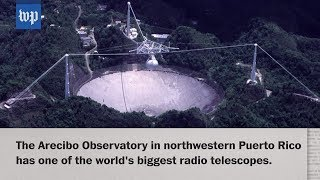 Battered, but not broken, the Arecibo Observatory will remain open