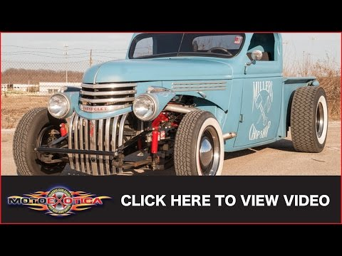 1939 Chevrolet Master Rat Rod Pickup (SOLD)