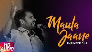 Maula Jaane ( Full Audio Song ) | Amrinder Gill | Latest Punjabi Song | Speed Records