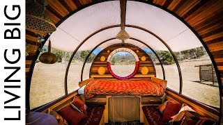 A Caravan Home Like No Other - The Incredible Unity Wagon