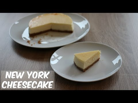 New York Cheesecake - Easy to make baked cheesecake recipe