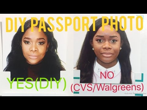 DIY Passport Photo From the Comfort of Your Home