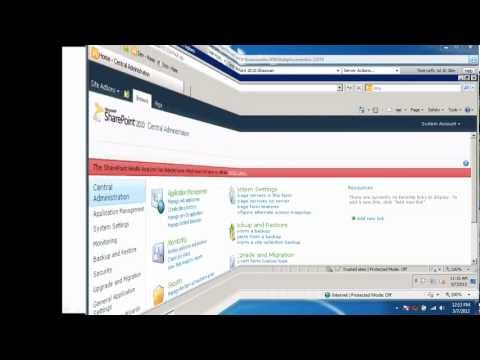 Move Site Collections between Content Databases in SharePoint 2010.wmv