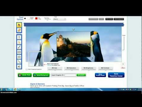 How to create a Facebook Timeline Cover